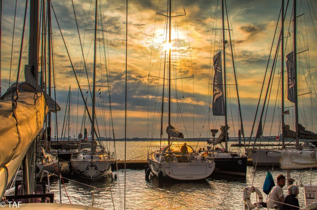 """Thomas Anders - """"Zweiter Tag des Hanse-Cup 2014. Es ist ein herrlicher Morgen und verspricht, eine tolle Fahrt nach Hiddensee zu werden."""""""