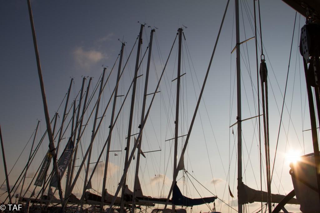 """Thomas Anders - """"Sonnenaufgang über der Marina von Vitte. Alles ruht noch."""""""
