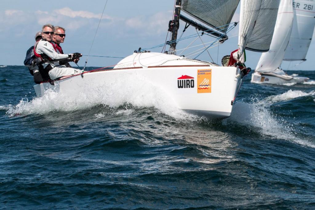 Brodus - Sieger der German Open der Seascape 18 Klasse. (Foto: Pepe Hartmann, Warnemünder Woche)