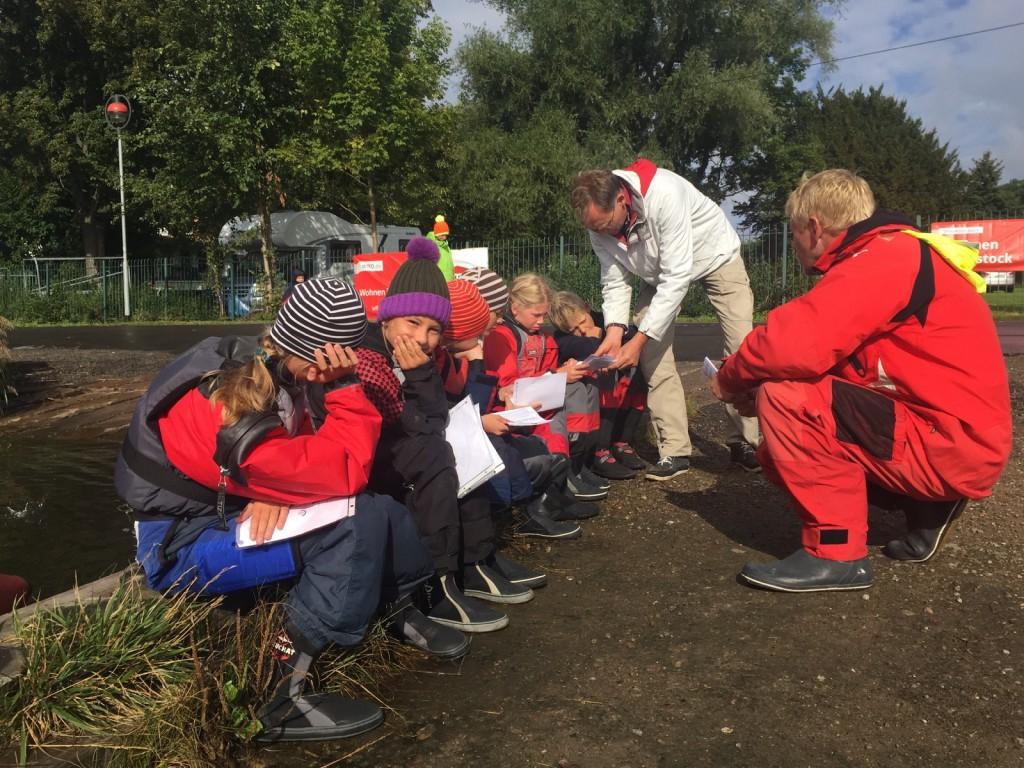 Greifswalder Team Besprechung