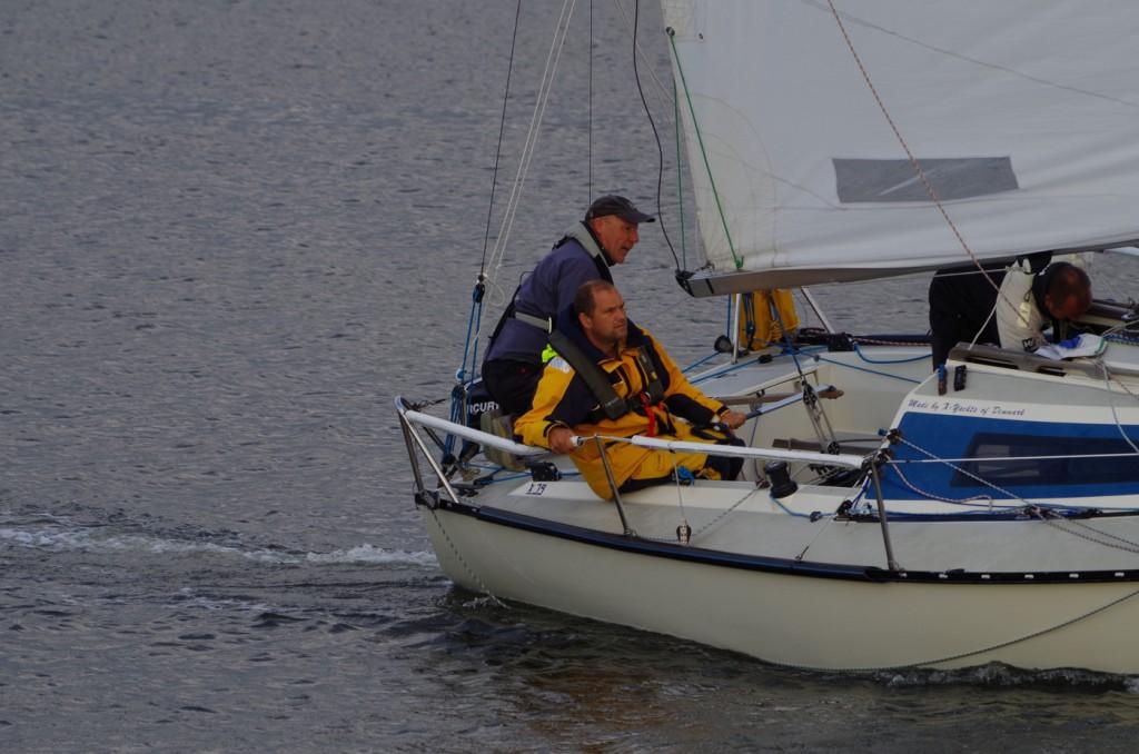 """Kleine BoddenRacer Sonderwertung: als eine von nur zwei Yachten hat """"Nae to dan"""" 17 der 18 Rennen mitgemacht."""