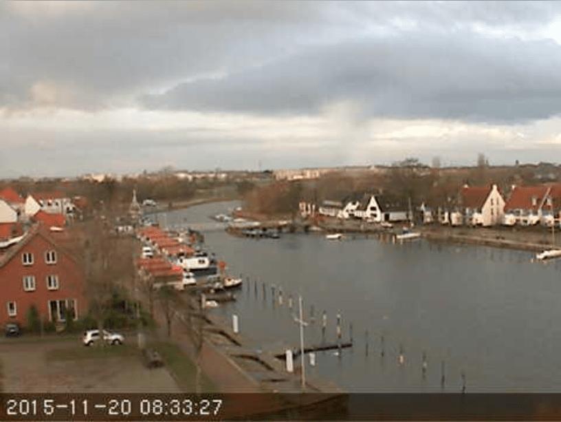 Nur noch wenige Boote sind in Wieck im Wasser. U.a. die aktuellen Deutschen Meister der Seascape18. (Klick hier zur Live- Webcam vom Majuwi.)
