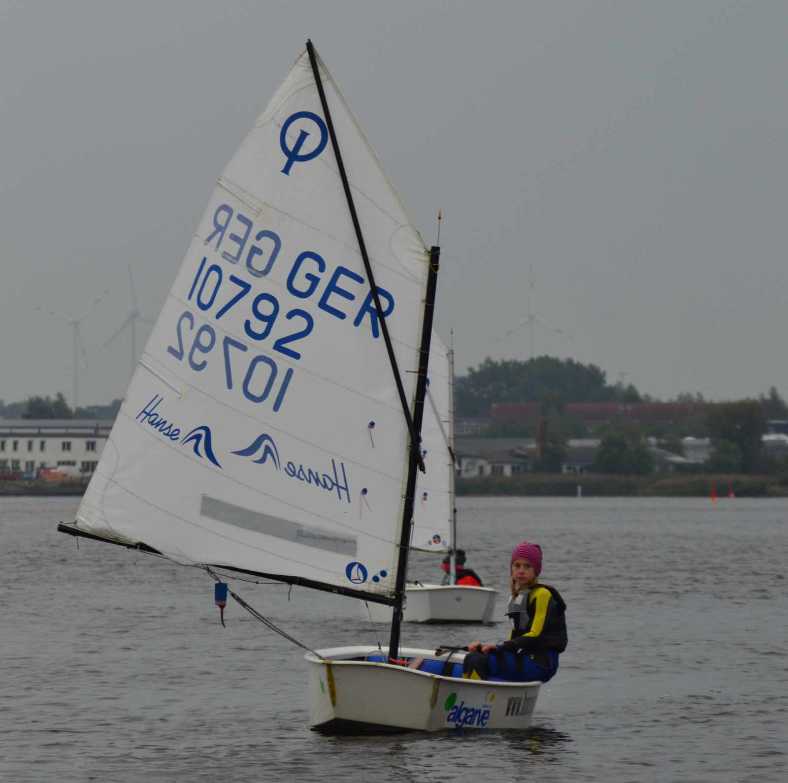 Adele hat in Rostock ihre erste Regatta bestritten!